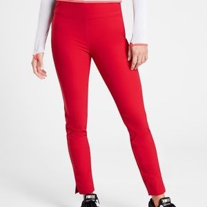 NWT Athleta Wander Slim Ankle Pant Size 10T in Red